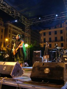 Leonidas from My Wet Calvin at European Music Day, Athens